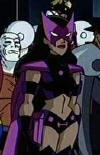 The Huntress en el cartoon de Justice League Unlimited
